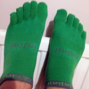 Do you like my toesocks?