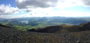 Great views from Skiddaw