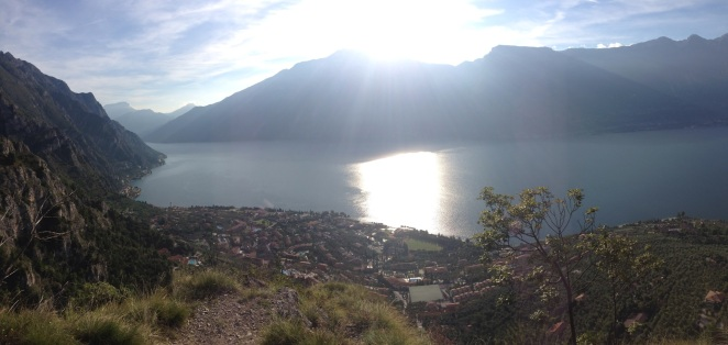 Sunrise over Monte Baldo