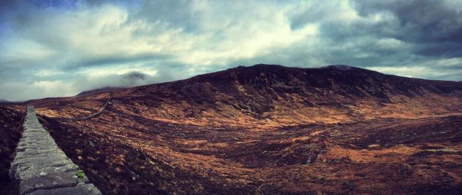 Chimney Rock & the Mourne Wall