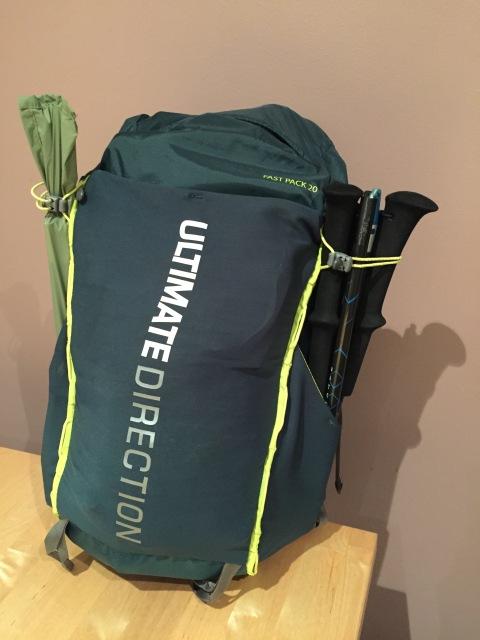 Fastpack 20. Approximately 7Kg